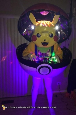 pikachu pokemon costume