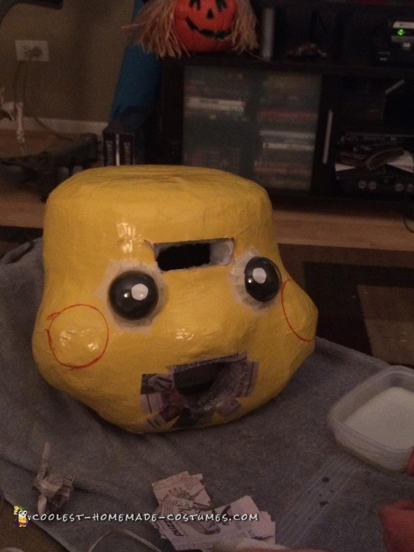 Adding Pikachu Facial Features
