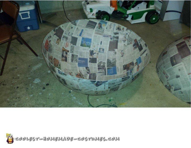 Constructing the Pokeball