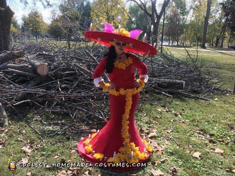 Amazing The Book of Life La Muerte Costume