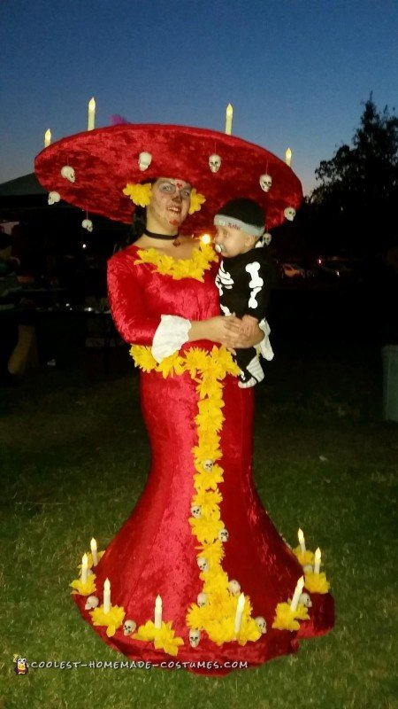 Amazing The Book of Life La Muerte Costume