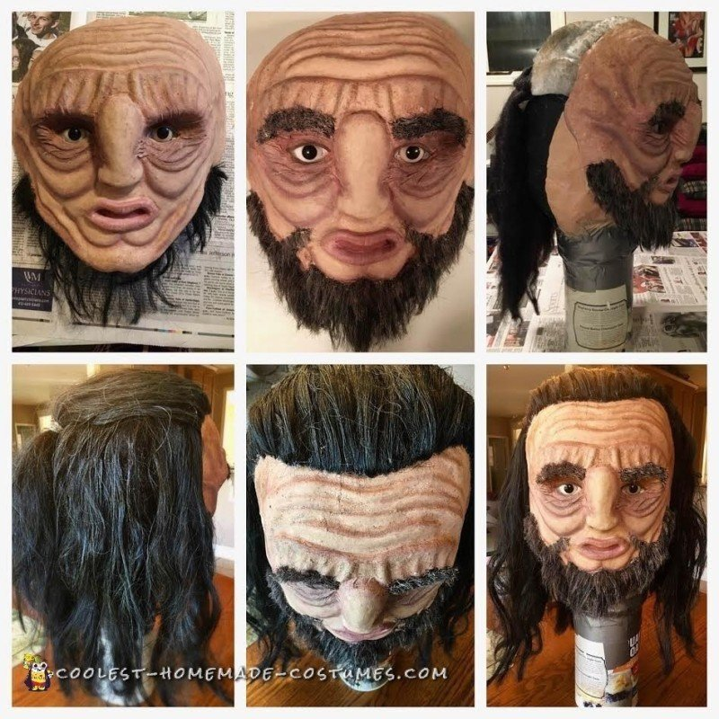 Applying the Facial and Head Hair