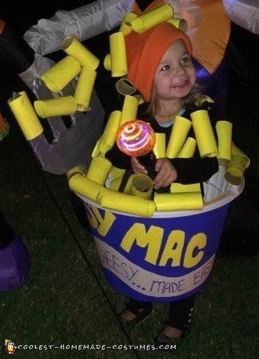 macaroni and cheese costume