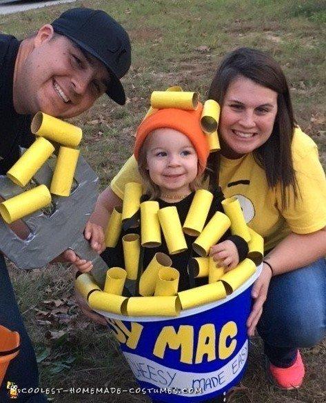 macaroni and cheese costume