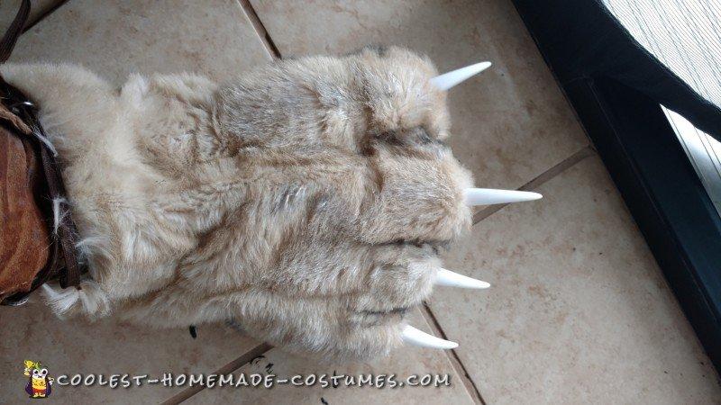 Amazing DIY Big Bad Wolf costume