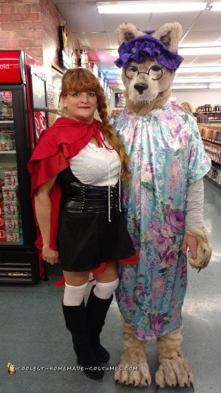 25 Coolest Homemade Little Red Riding Hood Costumes