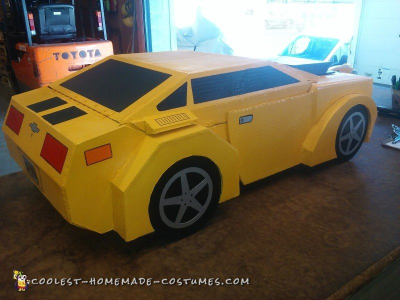 Transforming Bumblebee Costume - Transformers Costumes