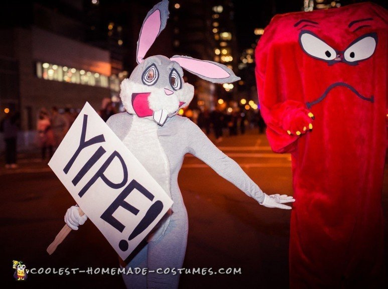 Awesome Gossamer and Bugs Bunny Costume