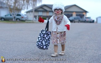 toddler old lady costume