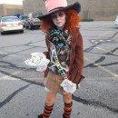 Cool Homemade Alice in Wonderland Mad Hatter Costume