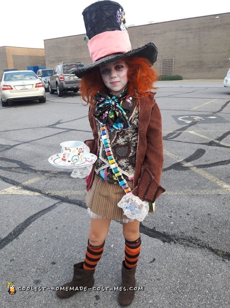 Cool Homemade Alice in Wonderland Mad Hatter Costume
