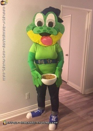 Honey Smacks frog costume