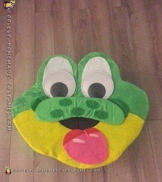 Honey Smacks frog costume