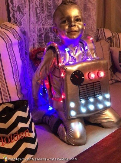 robot child costume