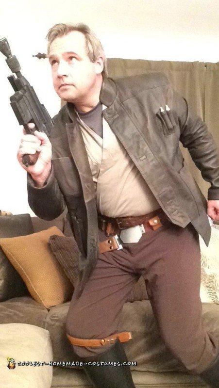 Han Solo's blaster costume