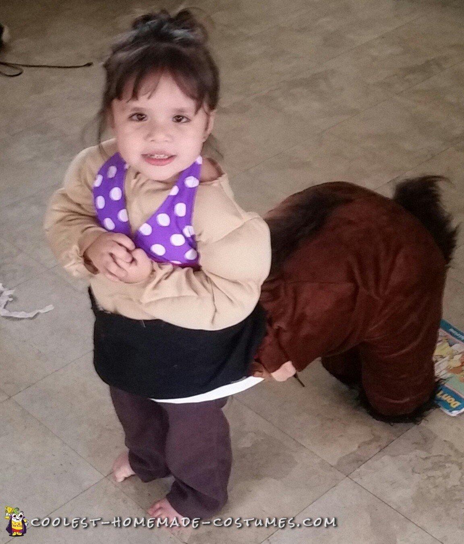 toddler centaur costume