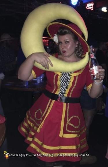 miller high life girl costume