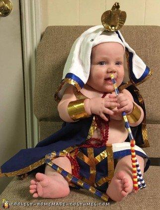 baby pharaoh costume