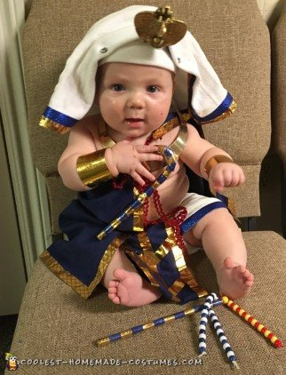 baby pharaoh costume