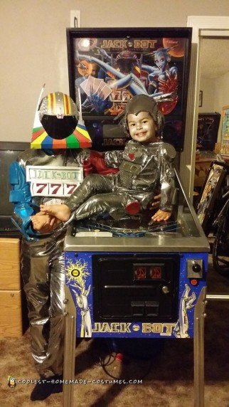 Cool Jackbot and Bride of Pinbot Costume