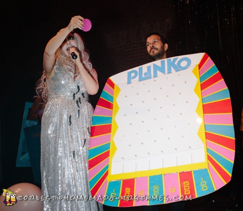 Cool Plinko Game Homemade Costume