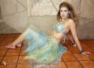 Sexy Sea Siren Homemade Costume