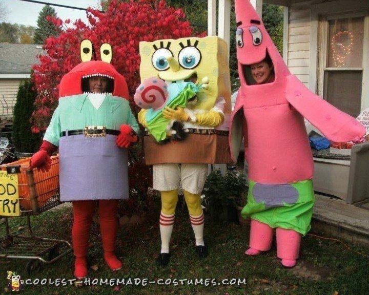spongebob halloween costumes