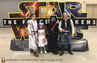 family star wars costume