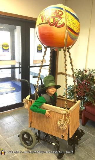 child wheelchair costume