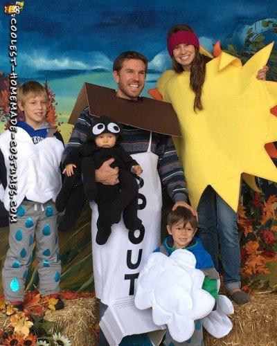 family halloween costumes
