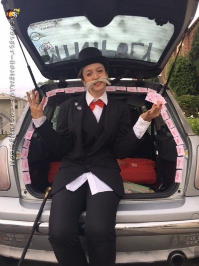 monopoly car costume