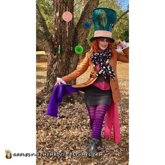 Tim Burton's Mad Hatter Costume