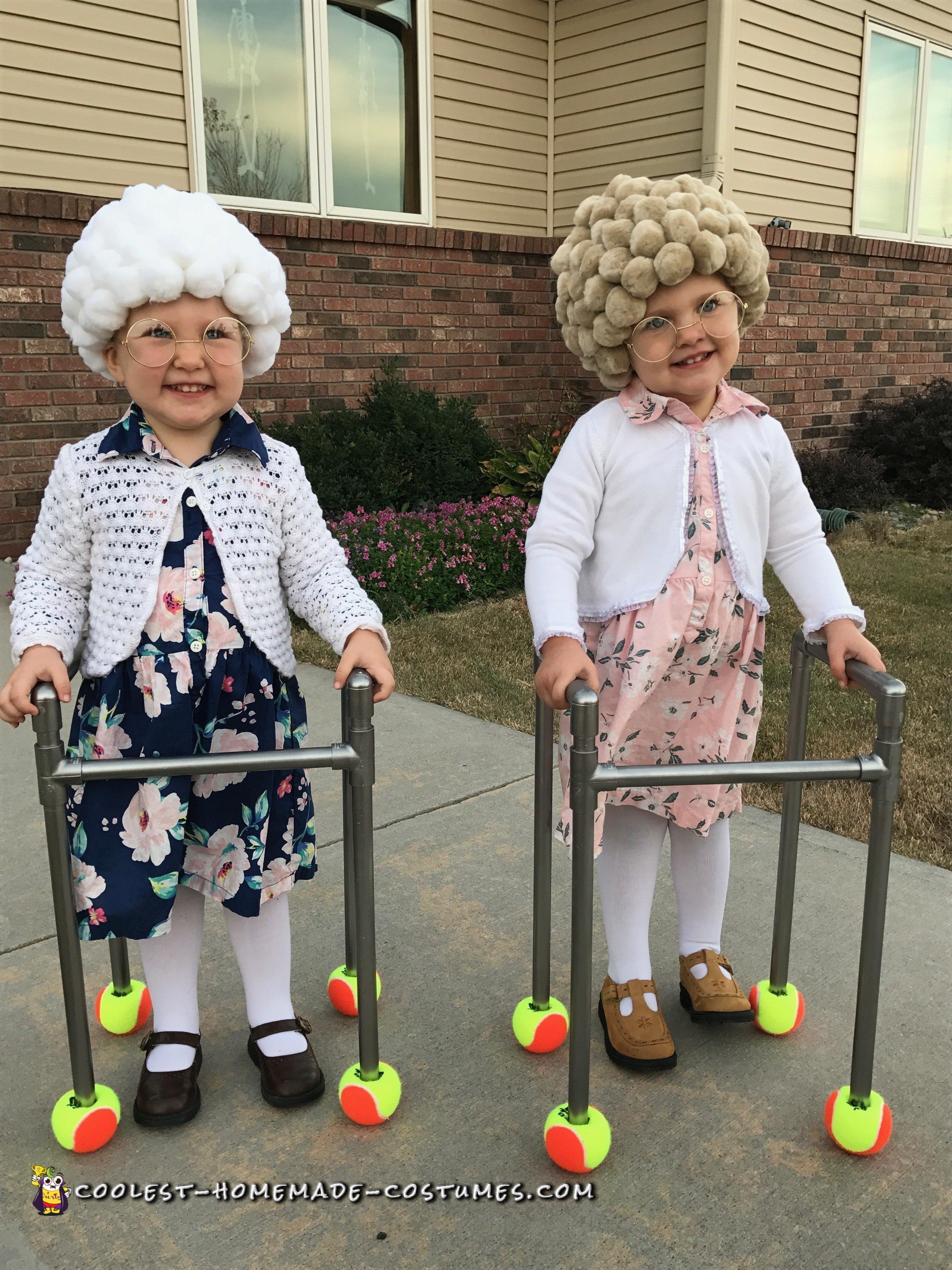 Easy DIY Adorable Twin Old Ladies