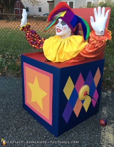 Amazing Homemade Jack in the Box Costume