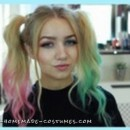 Super Easy Harley Quinn Costume