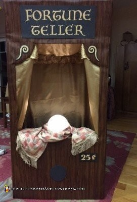 Amazing Carnival Fortune Teller Machine DIY Costume