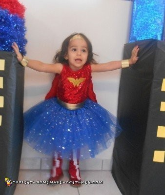Cool Wonder Woman Costume for Girls