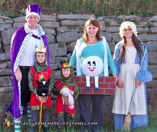 Cool Family Humpty Dumpty Costume