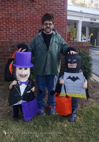 13c33c0ea Cool Lego Batman and Lego Penguin Costumes