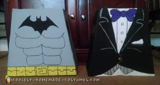 Cool Lego Batman and Lego Penguin Costumes