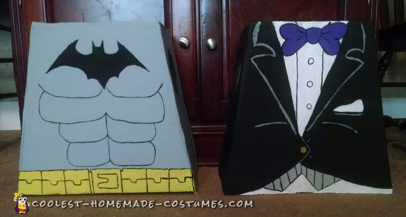 Cool Lego Batman and Lego Penguin Costumes