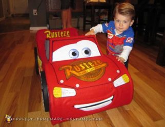 Lightning McQueen Toddler Costume