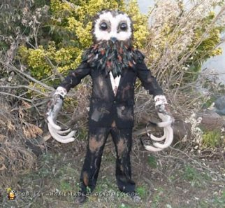 Lord of Tears Owl Man Costume