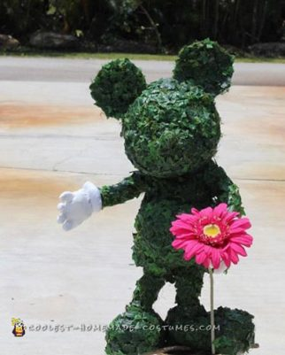 Topiary Mickey Mouse Costume