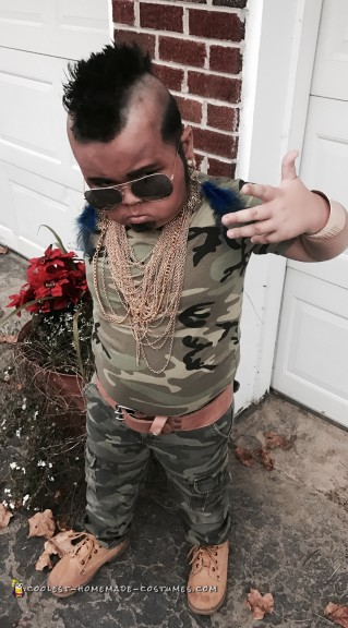 Cool Mini Mr. T Costume