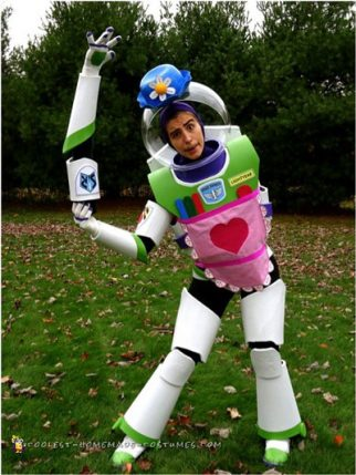 Nesbitt Buzz Lightyear Costume