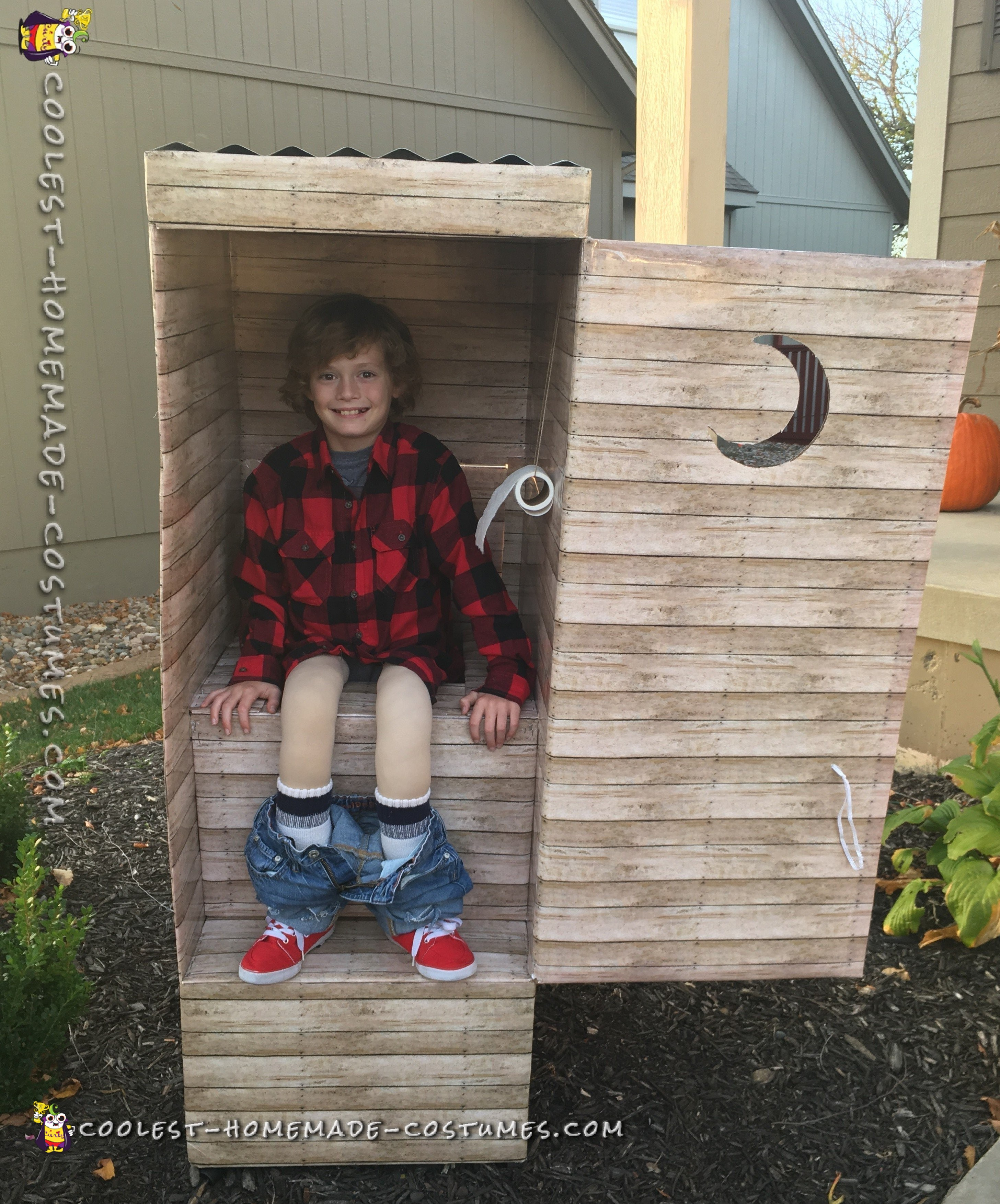 Funny Out House Costume