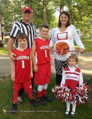 Funny Family Basketball Game Costume