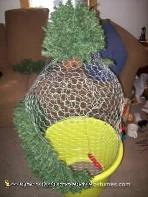 A Shrub...The Best Spy Costume Ever