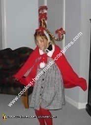 Cindy Lou Who Homemade Costume